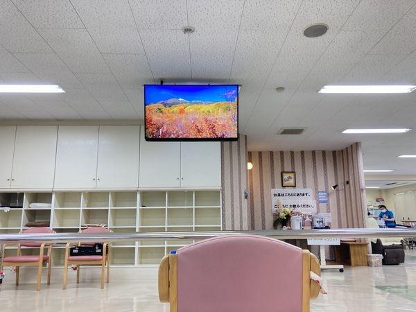福岡市西区テレビ壁掛け工事