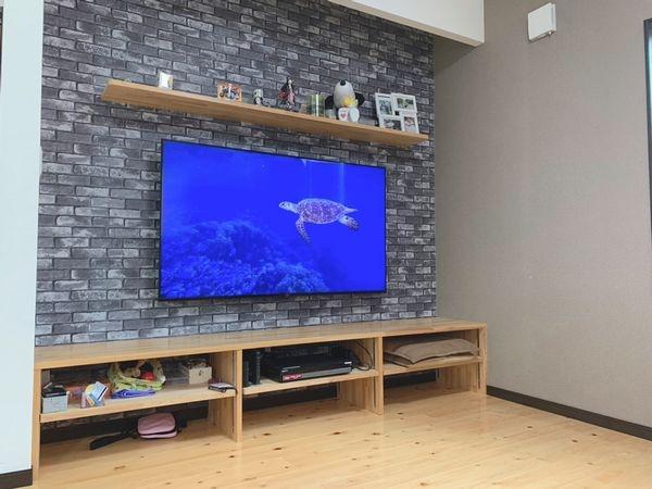 行橋市テレビ壁掛け工事
